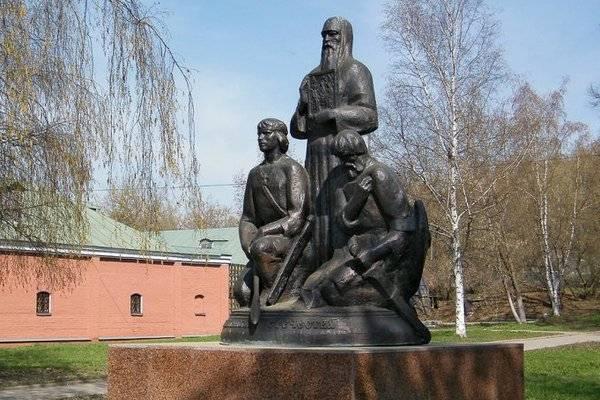 Подвиг крестьян Никона Шилова и Петра Слоты