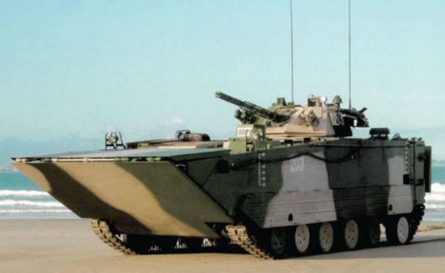 """Çinliler """"en hızlı"""" BMP amfibi hakkında konuştu."""
