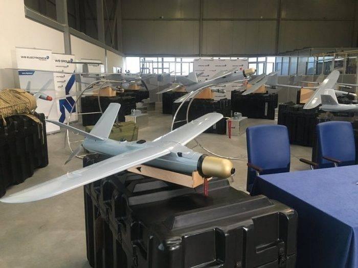 Polonia compró los drones kamikaze