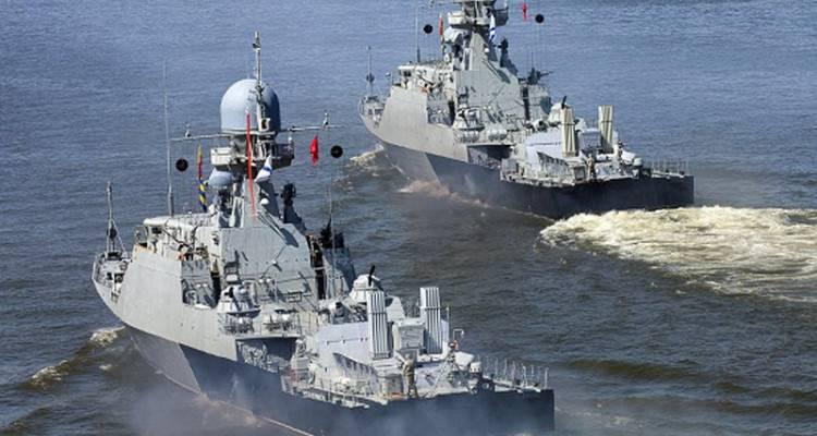 Anti-Terror-Übungen im Kaspischen Meer