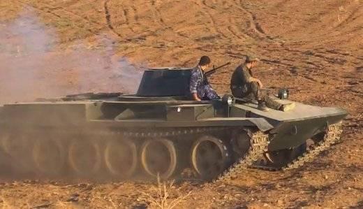 Supporta i veicoli da combattimento in Siria