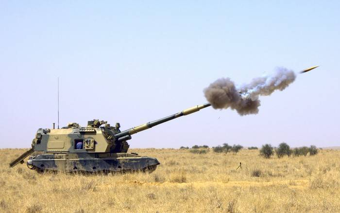 Msta-S howitzers have become more accurate and quick-firing