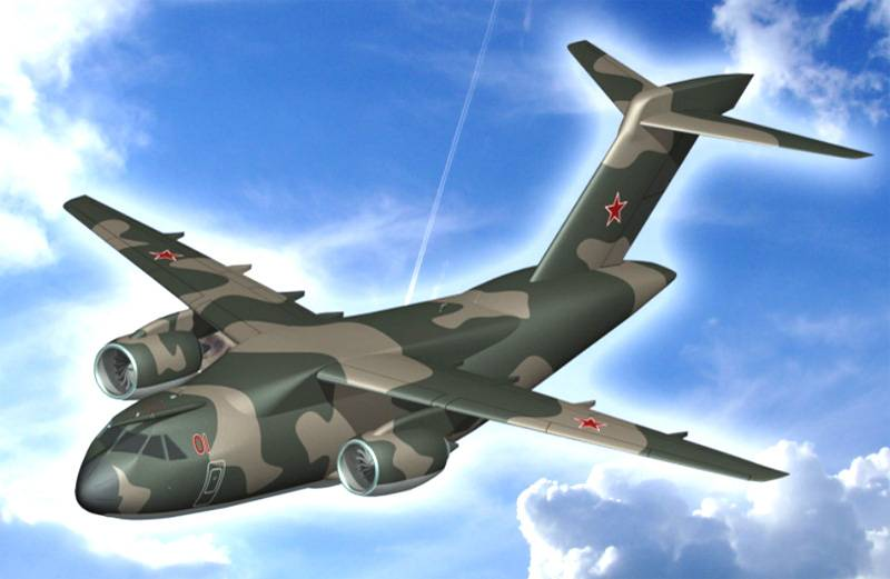 Technodinamika will develop a chassis for the promising IL-276