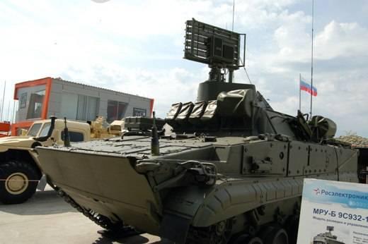 Высокомобильный радар на базе БМП-3