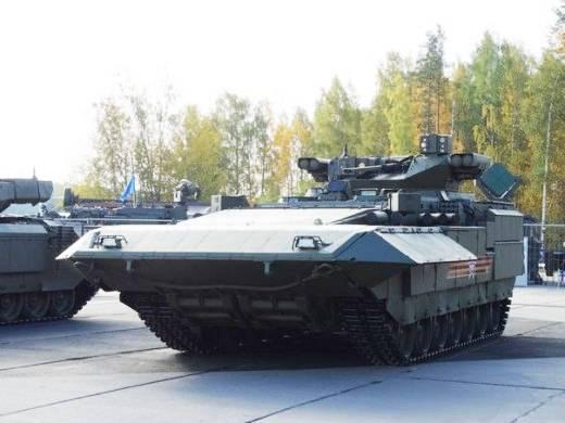 T-15 wird das leistungsstärkste BMP der Welt sein