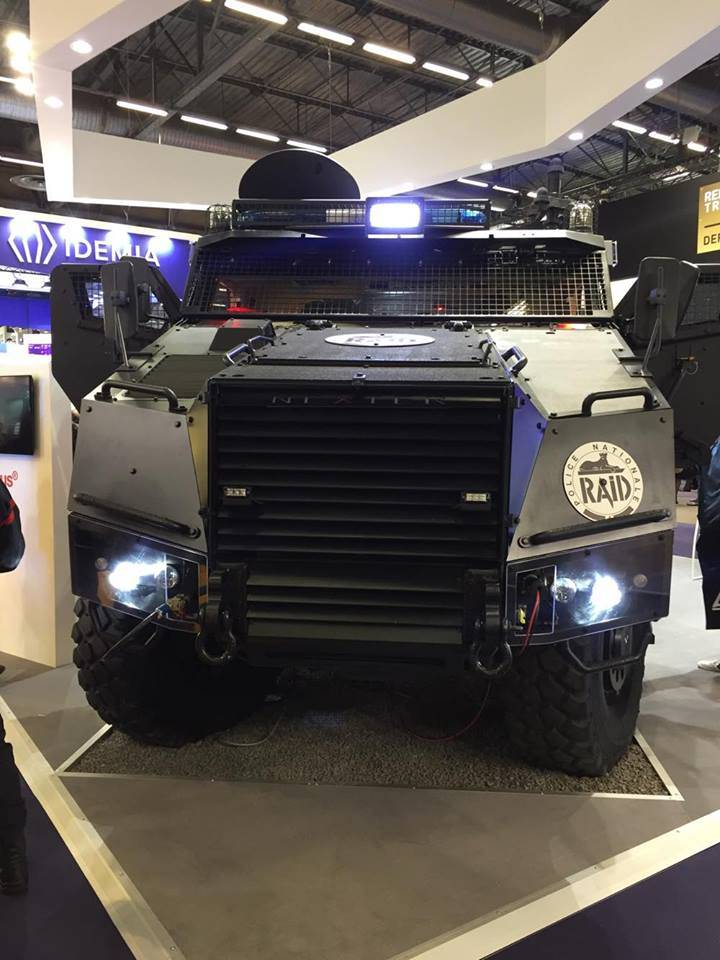 France presented TITUS armored vehicle at the exhibition