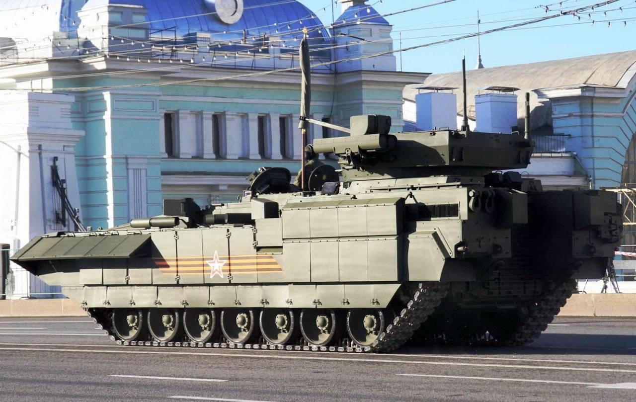 Стало известно опланах посозданию танка-робота набазе «Арматы»