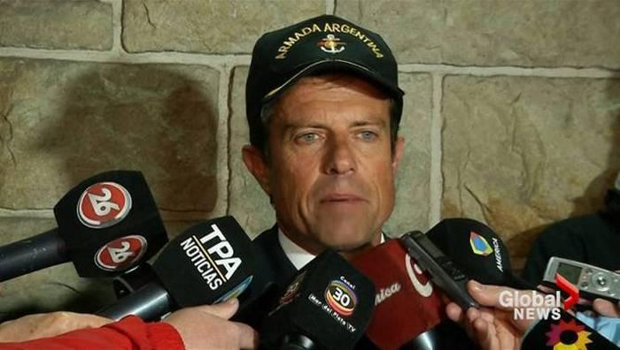 अर्जेंटीना नौसेना ने पनडुब्बी के लापता होने के क्षेत्र में विस्फोट पर डेटा प्राप्त किया