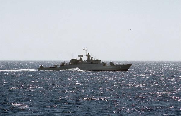 イラン海軍船がメキシコ湾に向けて出発