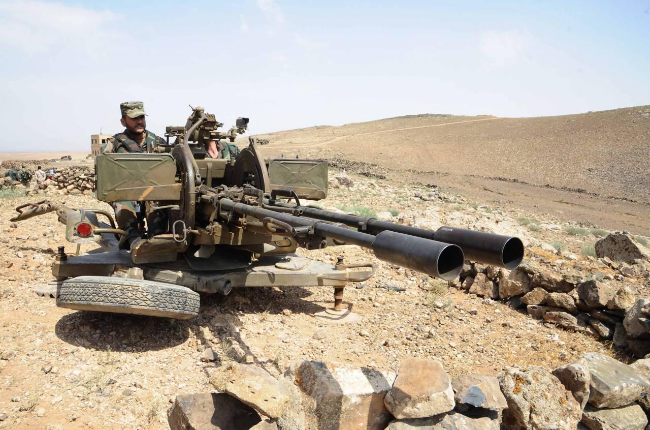 МинобороныРФ: сирийские войска вскором времени уничтожат ИГ* вдолине Евфрата