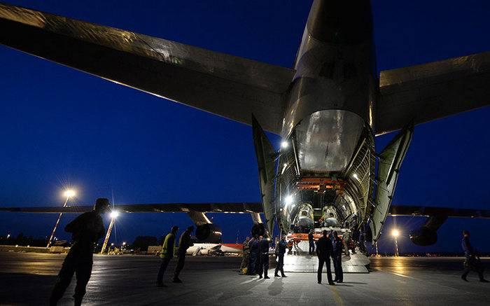 """Eine Abteilung der russischen Marine flog auf der Suche nach dem U-Boot """"San Juan"""" nach Argentinien"""