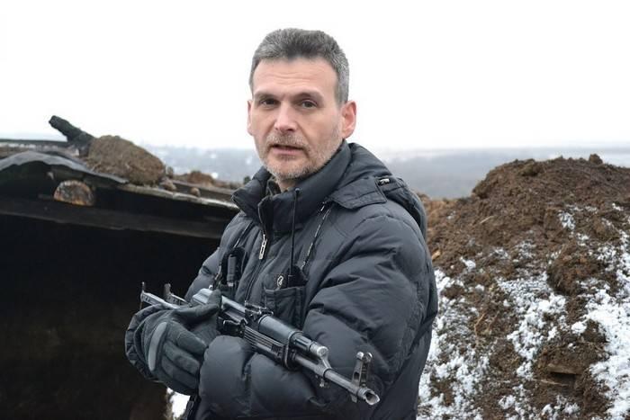 """बटालियन बटालियन """"फैंटम"""" ने स्वेतलारोड आर्क पर Ukrainians के साथ लड़ाई के बारे में बताया"""
