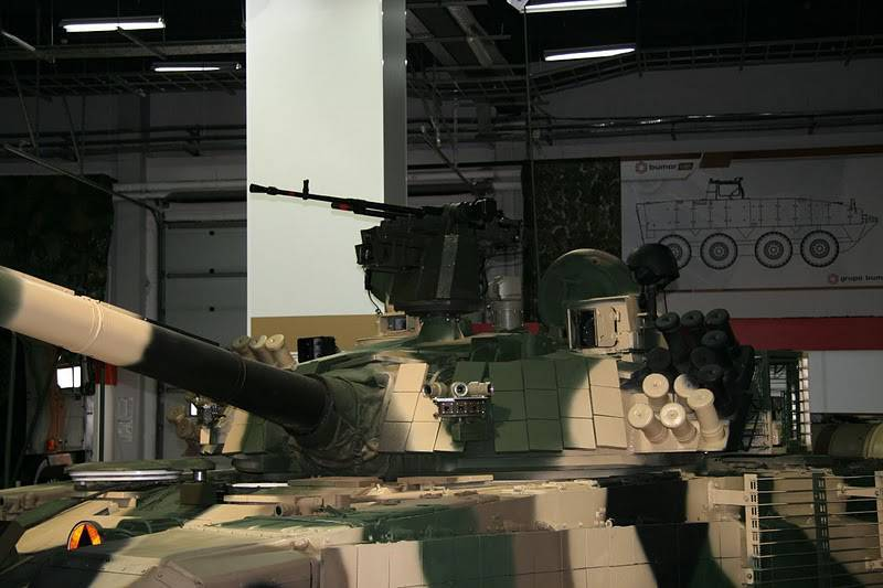 Ukraine has concluded a contract with the EU country for the supply of components for the T-72 tanks