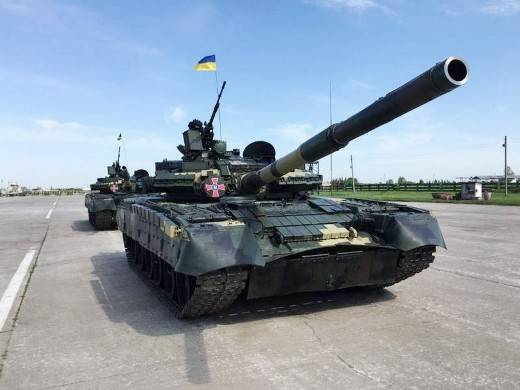 Ukrainian marines will receive a batch of repaired T-80