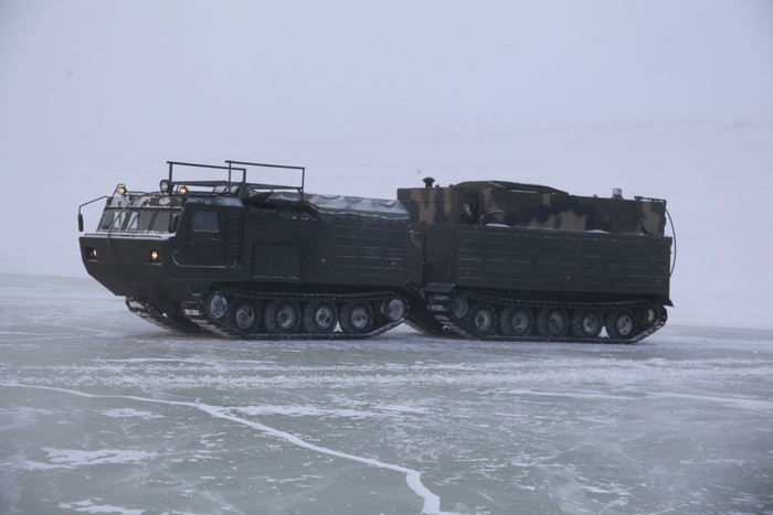 In Russia, the tests ended the arctic field kitchen