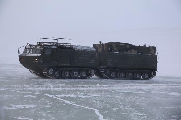 En Russie, les tests ont mis fin à la cuisine arctique