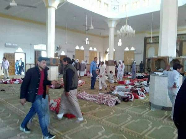 The terrorist attack in the mosque of Egypt took over 50 lives
