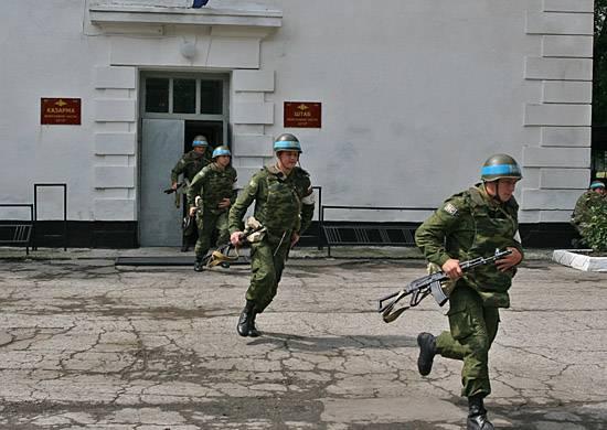 러시아 군 평화 조정자의 날. 임무 완수