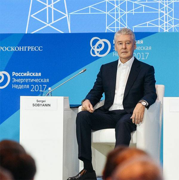 "Sergey Sobyanin and ""15 million conditionally extra people."" What was it?"
