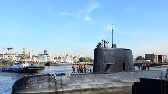 Argentine Navy: There were no torpedoes aboard the San Juan