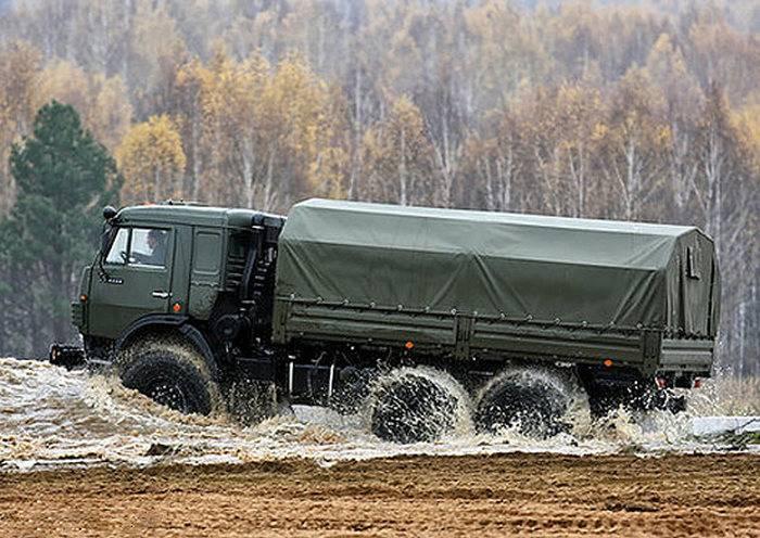 """В ЗВО поступили новые """"КАМАЗ 53501-342"""""""