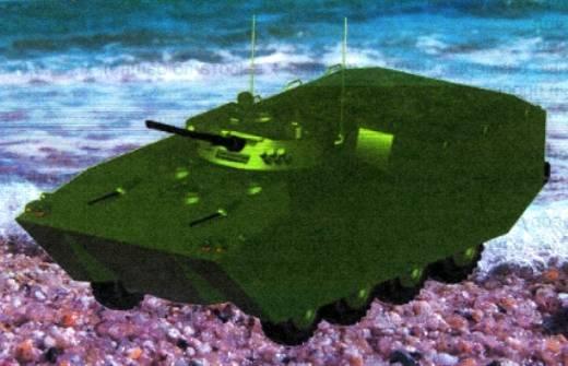 Nuevo BMP ruso para marines supera al chino VN18