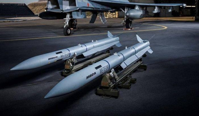 日本のF-35に適合するMBDA流星ミサイル