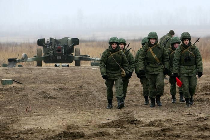 Una nuova brigata di artiglieria schierata a Kolomna vicino a Mosca