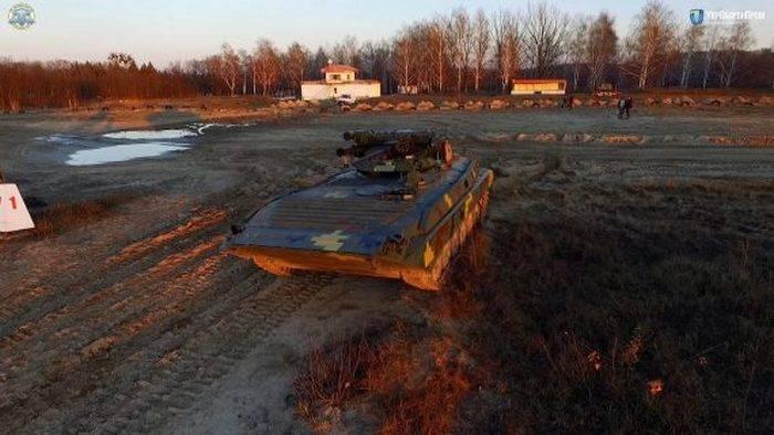 Ukroboronprom 60'larda geliştirilen BMP-1'i modernize etti