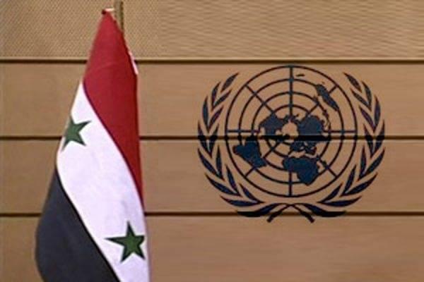 叙利亚可以联系联合国来谈判解决方案