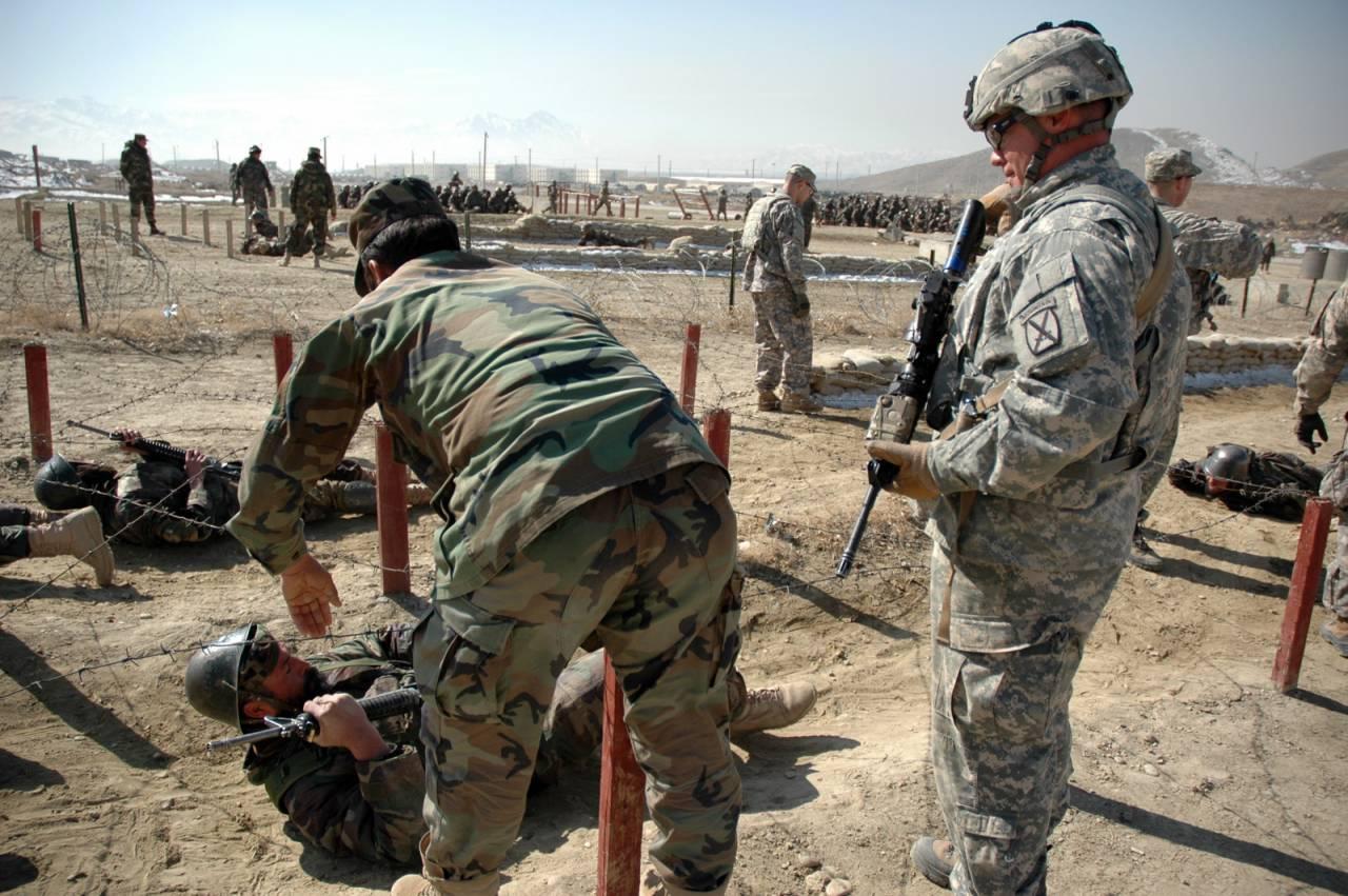 ВПентагоне назвали численность военных США вАфганистане, Ираке иСирии