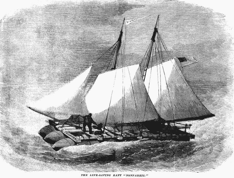 """""""नॉनपरेल"""" - समुद्र में मोक्ष के सभी आधुनिक साधनों का पूर्ववर्ती"""