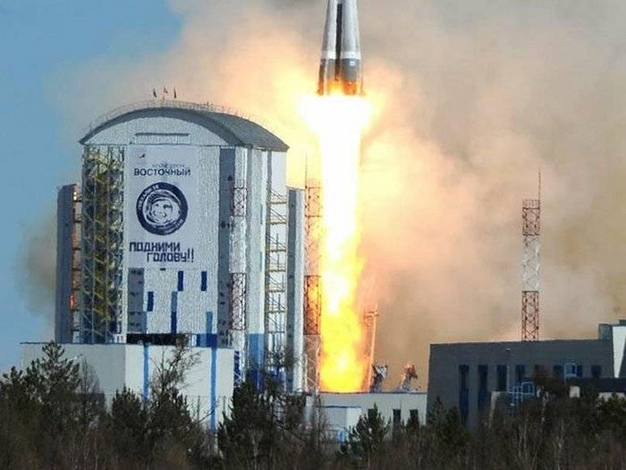 El segundo lanzamiento en la historia del cosmódromo.