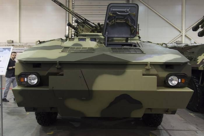 포로 센코, 우크라이나의 나토 (NATO) 기준에 따른 장갑차 개발