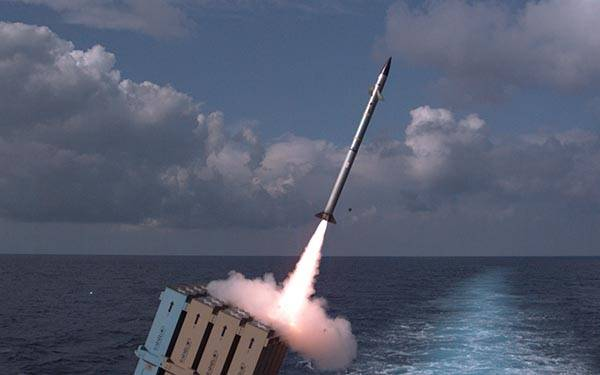 In Israel, completed tests of the marine version of the missile system