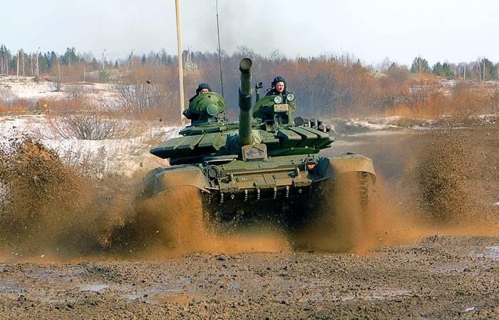 Модернизированный танк Т-72Б3 получил новый двигатель