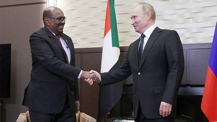 スーダンは紅海にロシアの軍事基地を配備する準備ができています