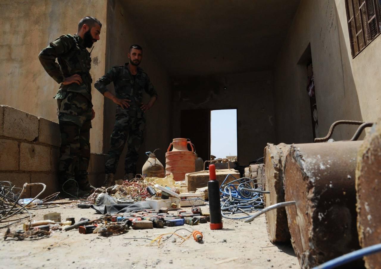 ВКСРФ обеспечили САА триумф при зачистке новых поселений впровинции Хама