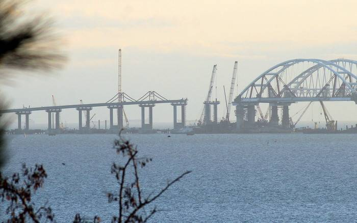 Ukraine came up with a new way to stop the construction of the Crimean Bridge