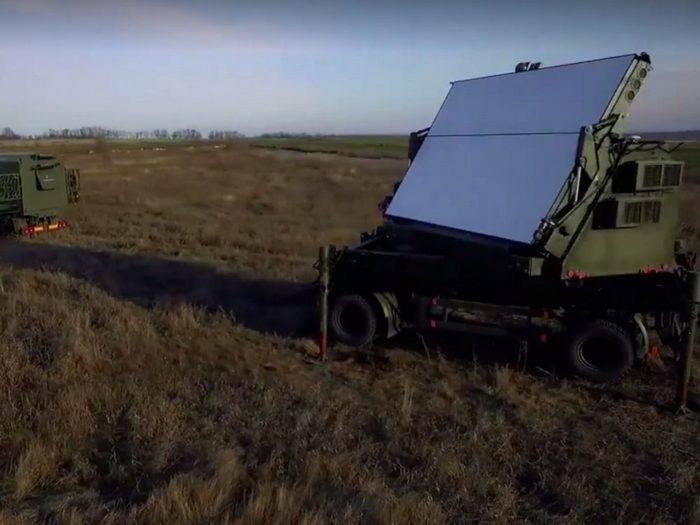 Poroshenko mostró un nuevo radar ucraniano 3D