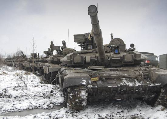 Tank units of the Southern Military District will be part of reconnaissance-strike circuits