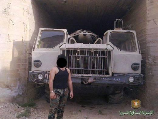 Missiles Scud améliorés en Syrie