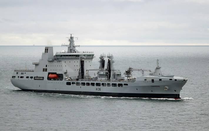 Die Briten starteten ein neues integriertes Versorgungsschiff