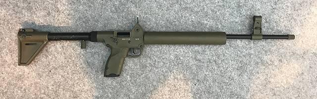 ピストルカートリッジ用自己装填式カルビンАСК-17-9