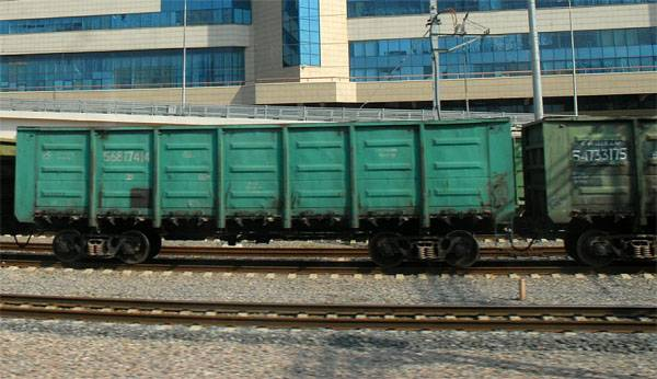 Record on freight turnover on the railways of Russia