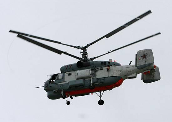 До конца года части ВМФ РФ пополнятся 8 модернизированными Ка-27