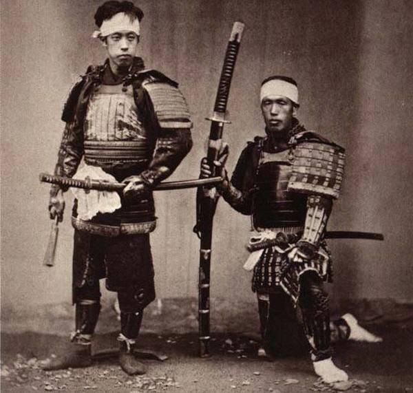 Japanisches Schwert: tiefer und tiefer ... (Teil von 3)