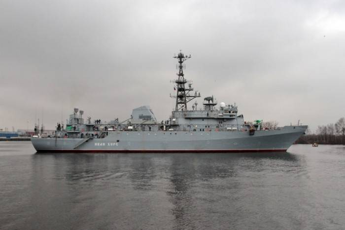"The transfer of ""Ivan Hurs"" to the fleet was transferred to the 1 quarter of the 2018 of the year"