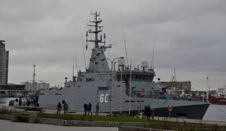 The Polish Navy received a new minesweeper