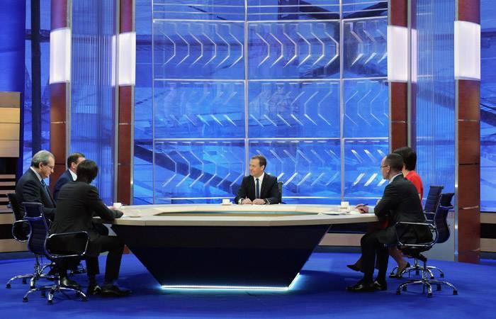 Dmitry Medvedev answers ...